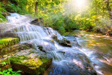 Tranh thác nước đẹp 25