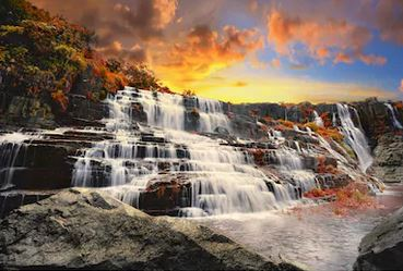 Tranh thác nước đẹp 27