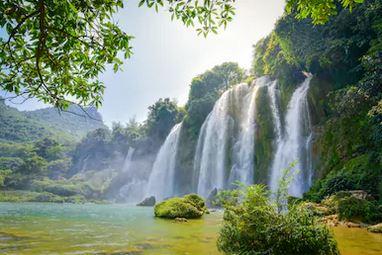 Tranh thác nước đẹp 28