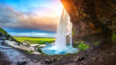 Tranh thác nước đẹp 29