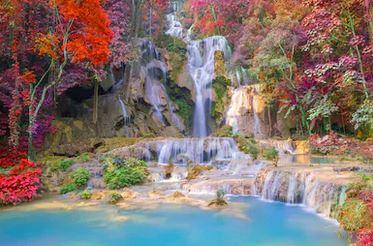 Tranh thác nước đẹp 30