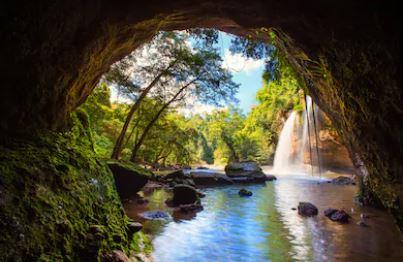 Tranh thác nước đẹp 31