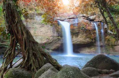 Tranh thác nước đẹp 32