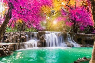 Tranh thác nước đẹp 34