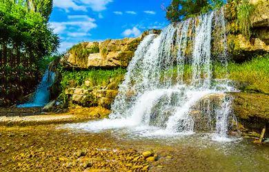 Tranh thác nước đẹp 36