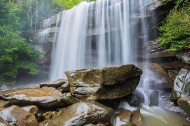 Tranh thác nước đẹp 37