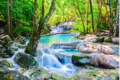 Tranh thác nước đẹp 38