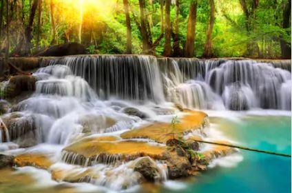 Tranh thác nước đẹp 41
