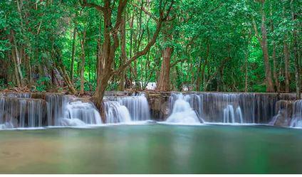 Tranh thác nước đẹp 42