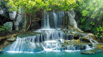 Tranh thác nước đẹp 49