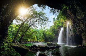 Tranh thác nước đẹp 51