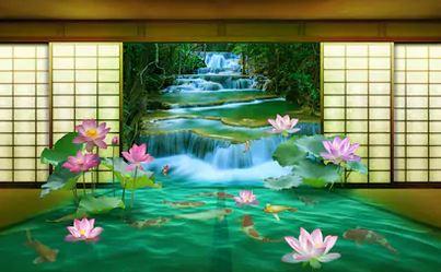 Tranh thác nước đẹp 52