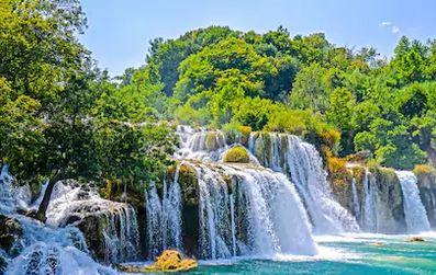 Tranh thác nước đẹp 55