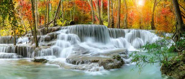 Tranh thác nước đẹp 57