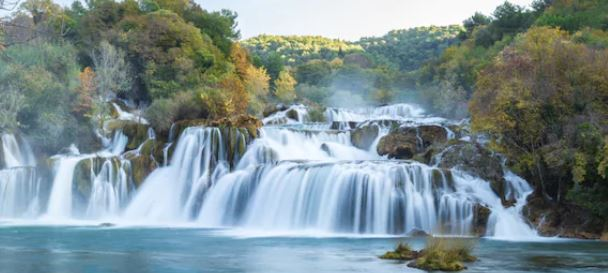 Tranh thác nước đẹp 58