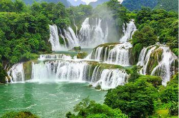Tranh thác nước đẹp 60