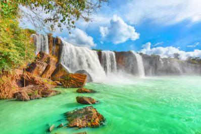 Tranh thác nước đẹp 62