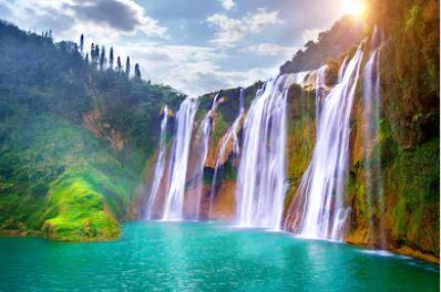 Tranh thác nước đẹp 63