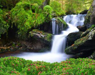 Tranh thác nước đẹp 65