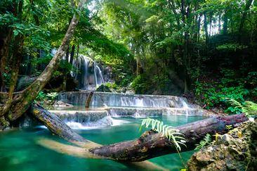 Tranh thác nước đẹp 66