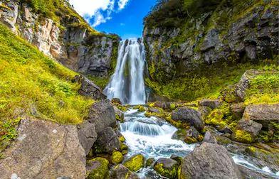 Tranh thác nước đẹp 67