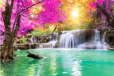 Tranh thác nước đẹp 70