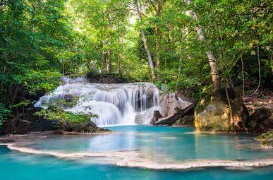 Tranh thác nước đẹp 72