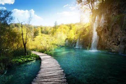 Tranh thác nước đẹp 74