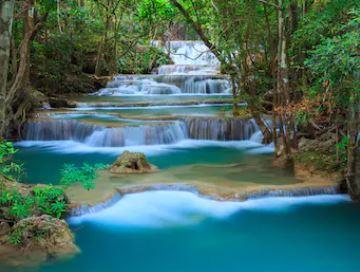 Tranh thác nước đẹp 78