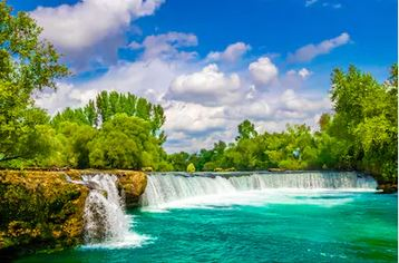 Tranh thác nước đẹp 79