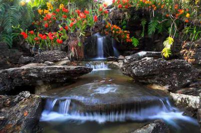 Tranh thác nước đẹp 81
