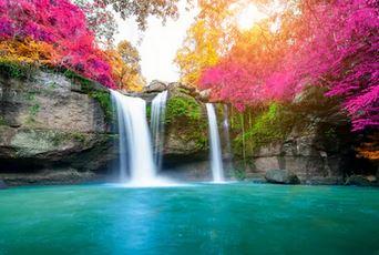 Tranh thác nước đẹp 82