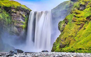 Tranh thác nước đẹp 87