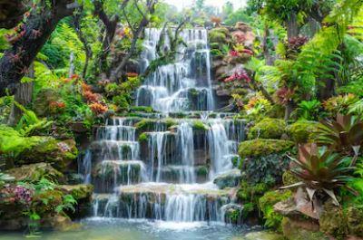 Tranh thác nước đẹp 09