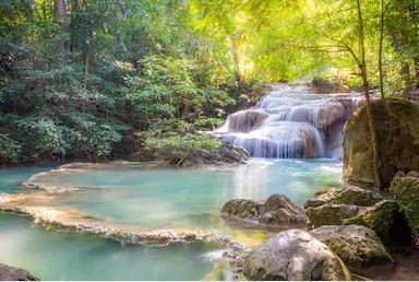 Tranh thác nước đẹp 91