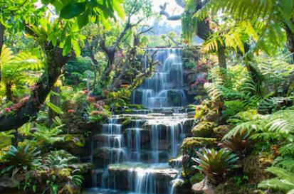 Tranh thác nước đẹp 92