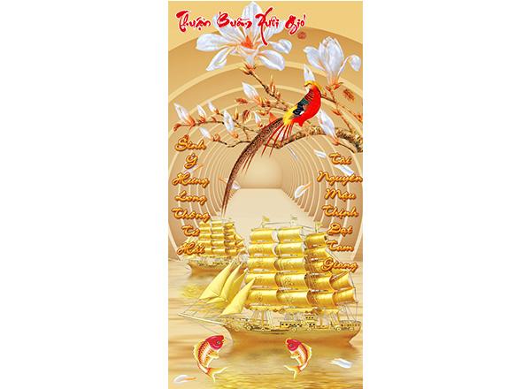 Tranh Thuận buồm xuôi gió - TTB04