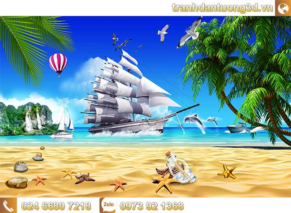 Tranh Thuận buồm xuôi gió - TTB05