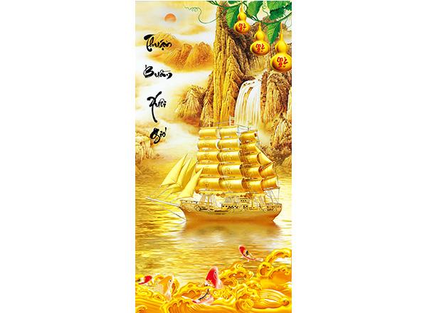 Tranh Thuận buồm xuôi gió - TTB06