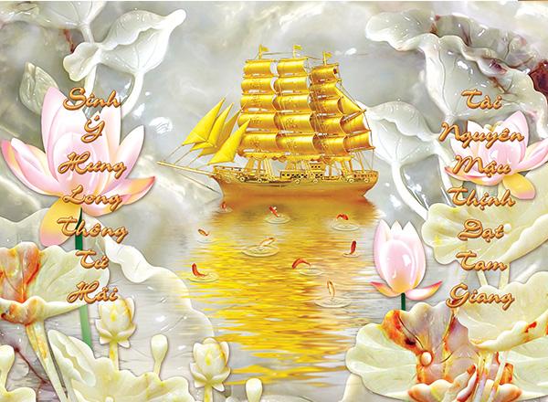 Tranh Thuận buồm xuôi gió - TTB02