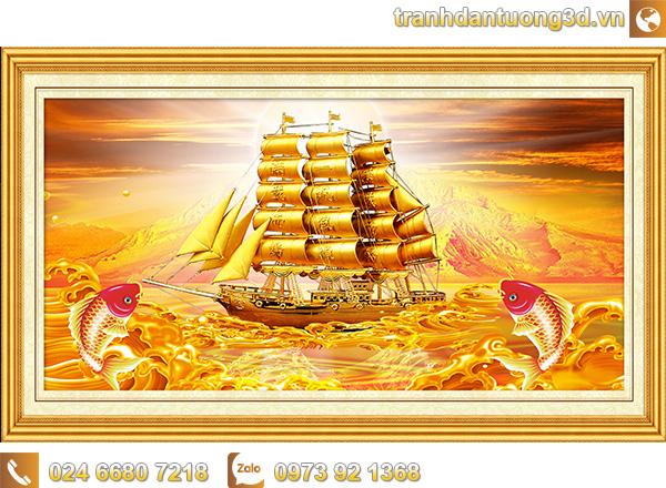 Tranh Thuận buồm xuôi gió - TTB10