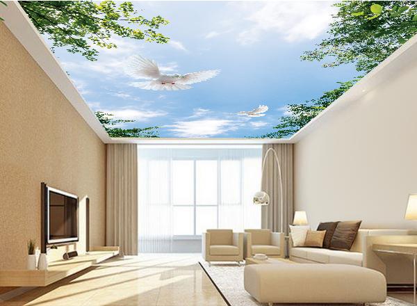 Tranh trần nhà - MS104