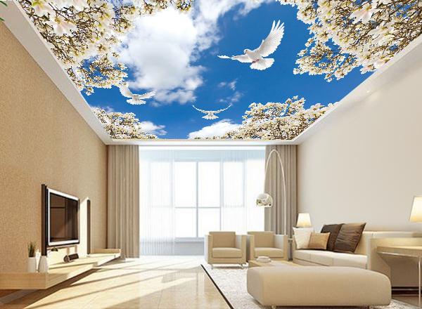 Tranh trần nhà - MS107