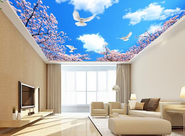 Tranh trần nhà - MS109