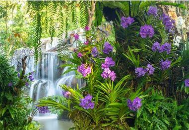 Tranh vườn hoa - TVH65