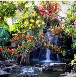 Tranh vườn hoa - TVH66