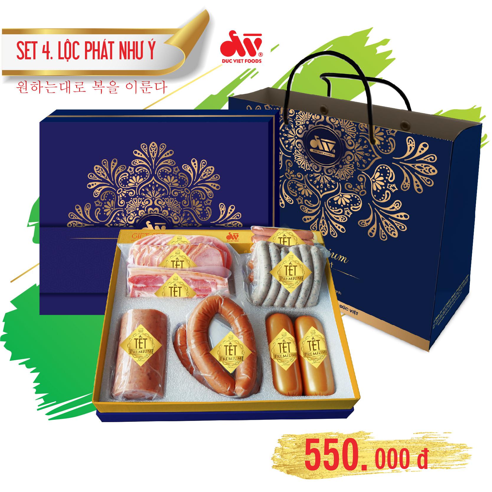 Set Quà Tết - Lộc Phát Như Ý - 550.000Đ