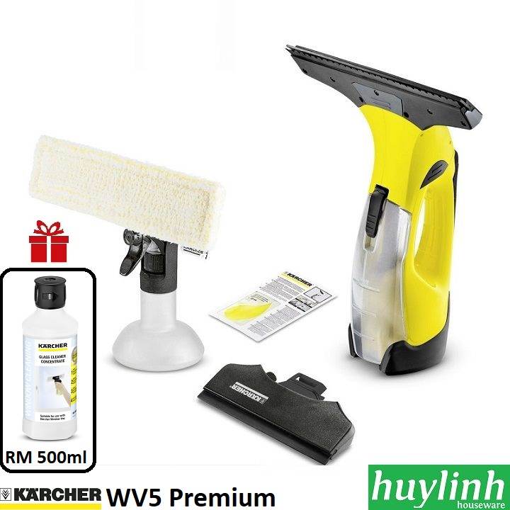 may lau kinh karcher wv5 premium