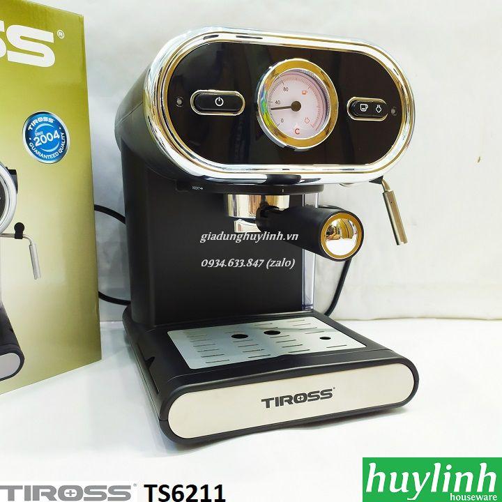 Máy pha cà phê Tiross TS6211 - 15 bar