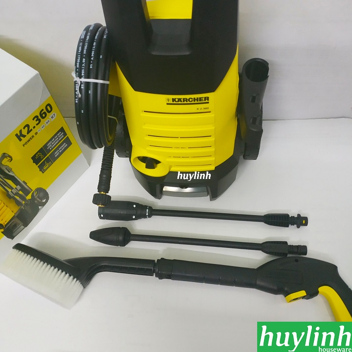 may xit rua xe karcher k2 360